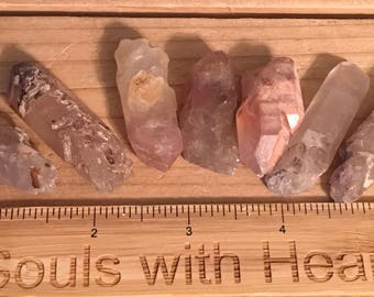 Lithium Natural Quartz Crystal Medium Point,Spiritual Stone, Healing Stone, Healing Crystal, Chakra
