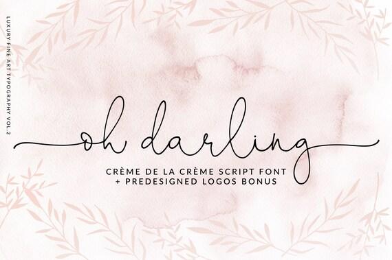 calligraphy font modern calligraphy digital fonts wedding