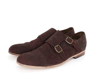 Monk Vagabundo Shoes in Wine