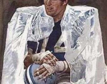 Great Bob Lilly Dallas Cowboys Art Print