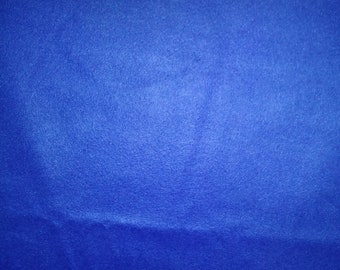 Blue Fleece Fabric