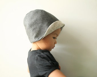 CHILDRENS WOOL HAT - boy / girl / winter hat / reversible / children / unisex / made in australia / by pamelatang