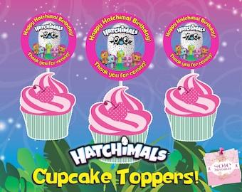 Hatchimals Birthday Banner