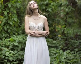 Rainier Long Chiffon Skirt
