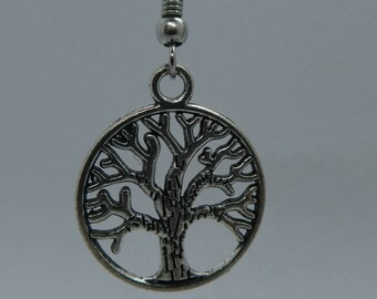 Silver Earrings Tree