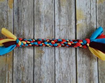 Durable Dog Toy - Fleece Rope Dog Toy - Extra Large