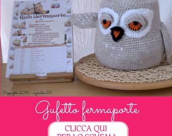 Crochet pattern: OWL