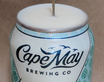 Scented beer can candle | Cape May Brewery