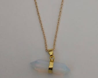 Beautiful Opalite Pendant Necklace.