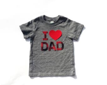 I Heart  DAD ... I Heart MOM... Fabric Iron On Appliques ...New Dad...Father's Day...Any Day