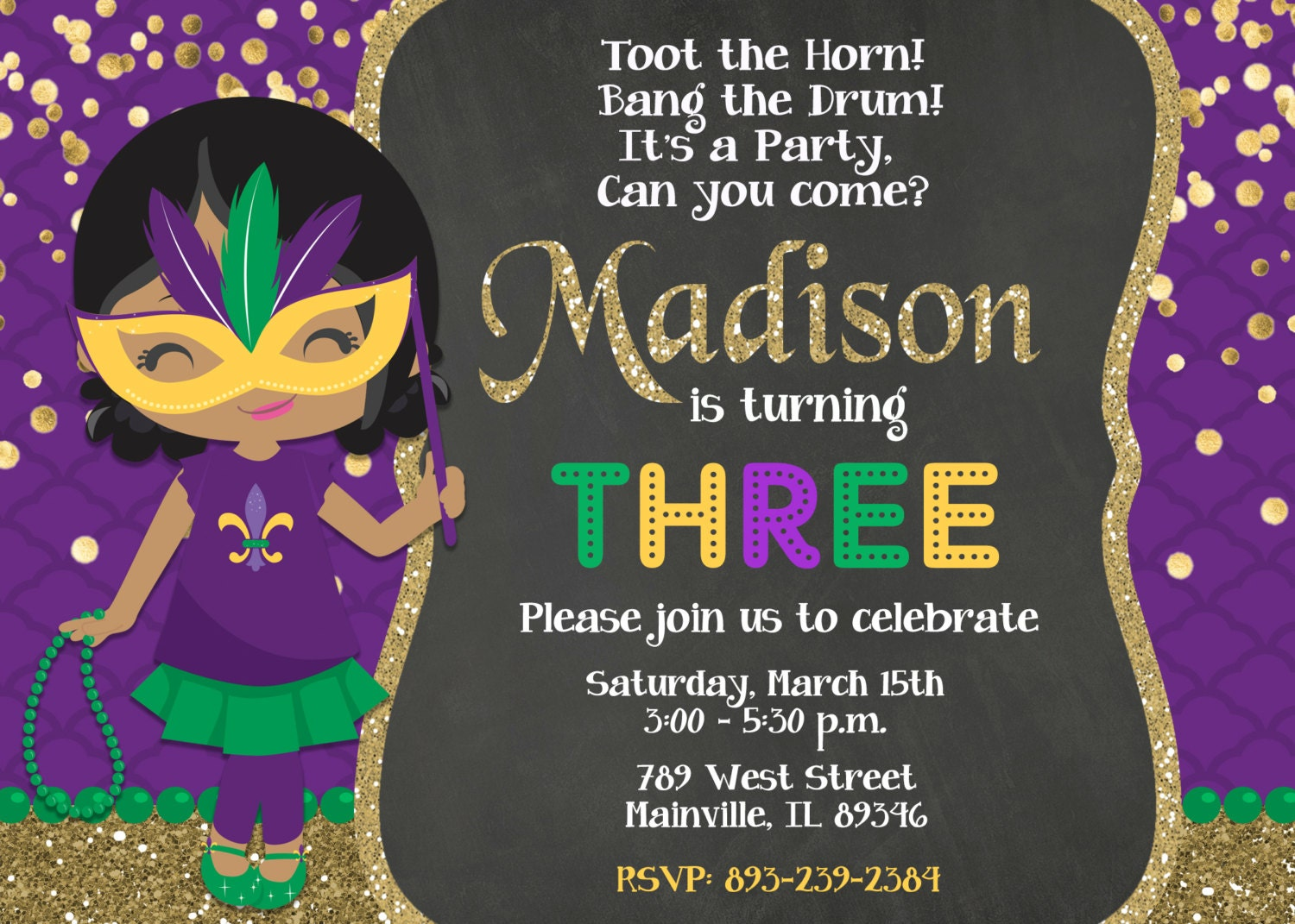 mardi gras party invitations  sc 1 st  Best resumes and templates for your business & mardi gras party invitations - Black.dgfitness.co