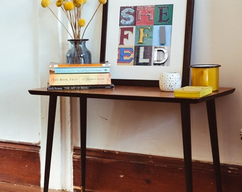 Sheffield Typography Print - Sheffield Art - Typography Print - Kate Cooper Photography