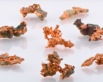 Natural Copper Nuggets Freeform Raw - Divine Metal for Cleansing