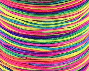 Nylon thread 0,8mm colorful 10m