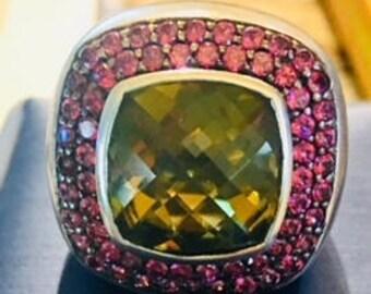 Unique Sima K Large Designer Ring