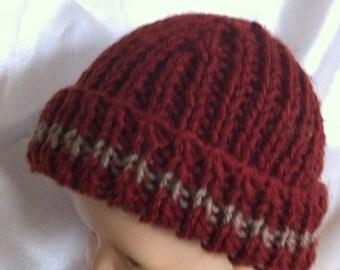 NEWBORN  baby hat, ready to ship baby boy hat , baby girl hat . knit hat, Baby shower gift, newborn gift