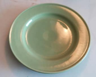 On Sale Avocado Green Homer Laughlin 11 inch Dinner Plate Replacement Dish