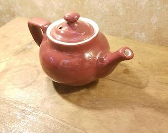 Deep Rose Personal Teapot