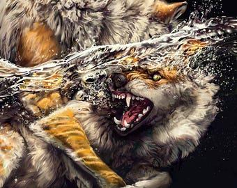 Intertidal - Beautiful Water Wolves