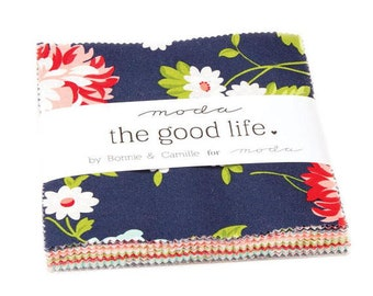 Charm Pack- The Good Life Charm Pack by Bonnie and Camille for Moda