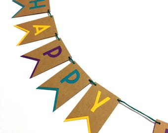 Message Banner In A Box / Greeting Card