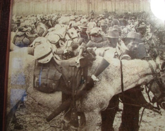 Vintage War Picture Rough riders