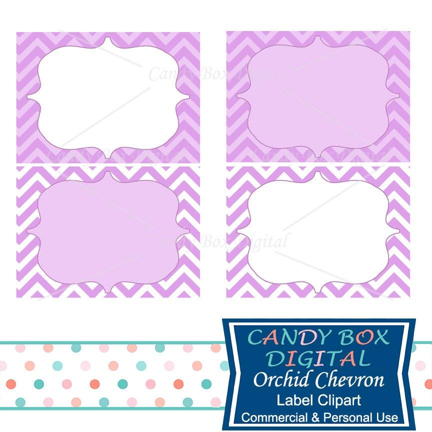 orchid chevron label clipart purple frame label clip art rh etsy com clipart label borders clip art labels template