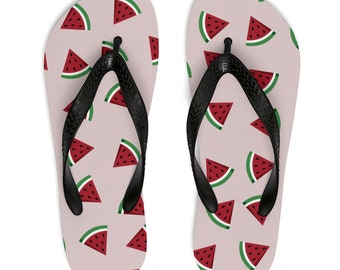 Summer FlipFlops Watermelon Sandals Perfect For 4Th Of July Party Celebration Barbecues Beach Pool Or Day To Day Activities