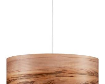 Hanging lamp - Pendant light - Wooden Pendant Lamp - Wood Light - Natural Wood Shade