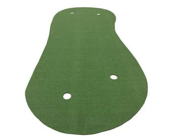7 Feet x 15 Feet Professional Synthetic Turf Grass Nylon Practice Putting Green