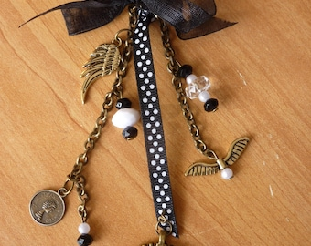 Vintage Keyring or bag charm