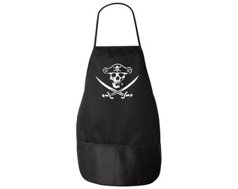 Pirate Apron - Jolly Roger 2