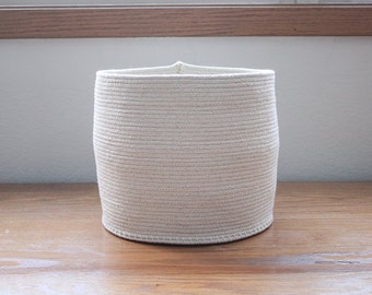 Simple Rope Basket