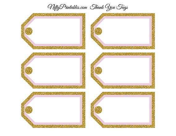 Free Printable Wedding Gift Tags: Printable Blank Favor Tags