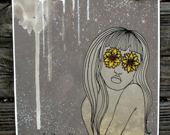 Feminist Art / Art Print / Wall Art Print / Quirky Art / Quirky Gifts / Quirky Wall Art / Feminist / Wall Art / Illustration Print