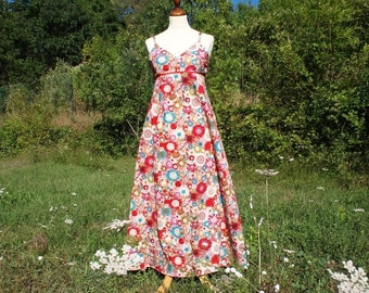 Made to order: women's dress in liberty print, large choice of fabrics
