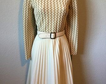1970s Polyester dress