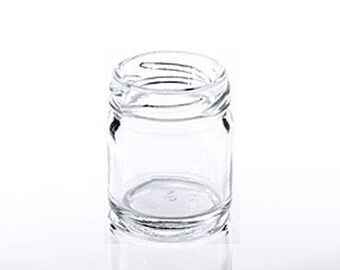 200 x 1.5oz (43ml) Glass Jars with Gold Lids - Suitable for small wedding favours