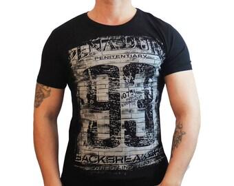 "brand new ""backbreak""men's casual black t-shirt ,size L"