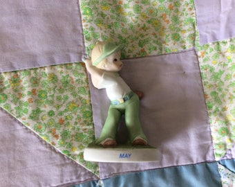 1983, Lefton China, The Christopher Collection, May Little Golf Boy, 03914