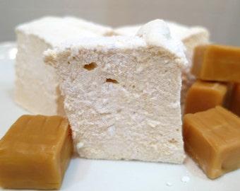 Caramel Marshmallows  - 1 dozen Gourmet homemade marshmallows
