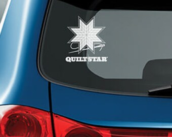 QUILT STAR decal