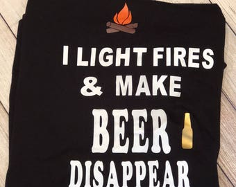 Fires/campfire / camping/ beers/ outdoors/ tents/ rv /trailers