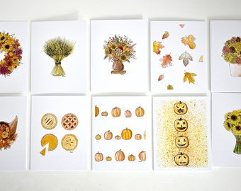 Autumn Notecard Set