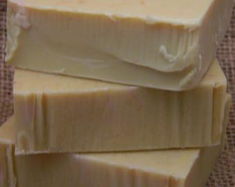Lemon Sugar Goats Milk Soap
