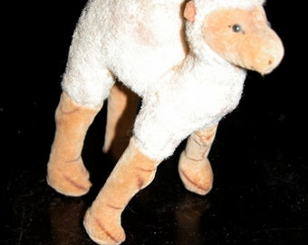 SALE Vintage Steiff Camel Toy Miniature Steiff Clone  Japanese Mohair Stuffed Camel Dromedary Steiff Style Stuffed Animal from Japan