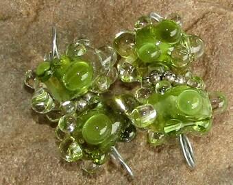 BHG  Olive waterdrop pair