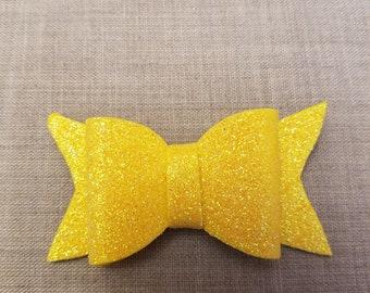 Bright Yellow Glitter