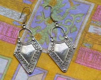 Tribal Earrings. Ethnic Earrings. Drop Earrings. Gypsy Earrings.