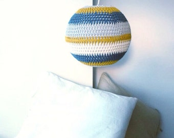 Crochet Lampshade Pattern - Instant Download